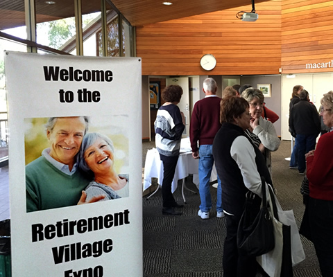 Meet directly with retirement villages and resorts all under one roof