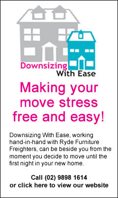 Downsizing With Ease - Specialist removalists for retirees moving into Retirement Villages